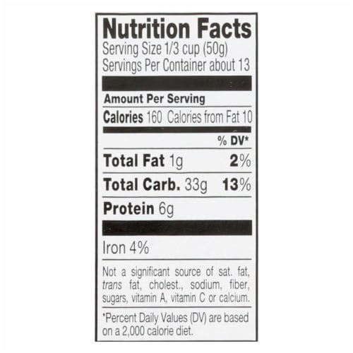Riceselect Couscous, Pearl, Plain Organic  - Case of 4 - 24.5 OZ Perspective: back