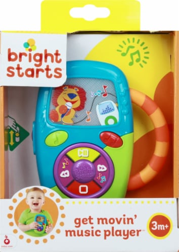 Bright Starts Get Movin' Music Player Infant Toy Perspective: back
