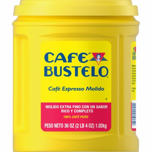 Cafe Bustelo Espresso Ground Coffee Perspective: back