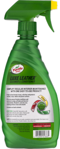 Turtle Wax Quick & Easy Luxe Leather Cleaner & Conditioner Perspective: back