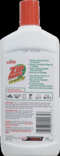 Turtle Wax Zip Wax Car Wash & Wax Perspective: back