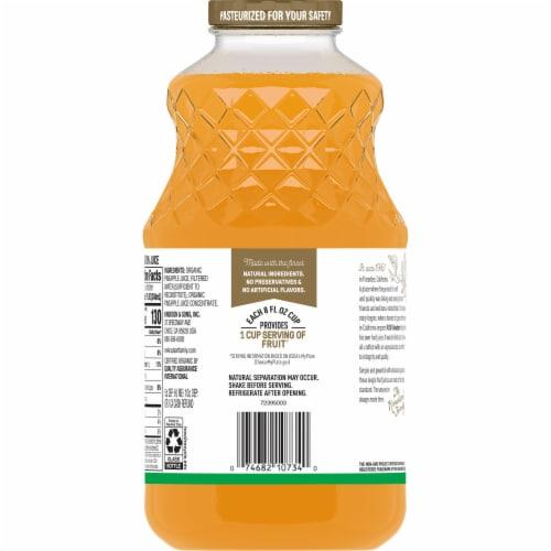 R.W. Knudsen Organic Just Pineapple Juice Perspective: back