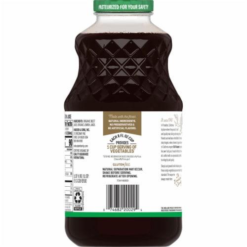R.W. Knudsen Organic Beet Juice Perspective: back