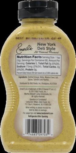 Emeril's New York Deli Style Mustard Perspective: back