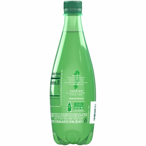 Perrier® Carbonated Mineral Water Perspective: back