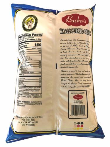 Backer's Wavee Potato Chips Perspective: back