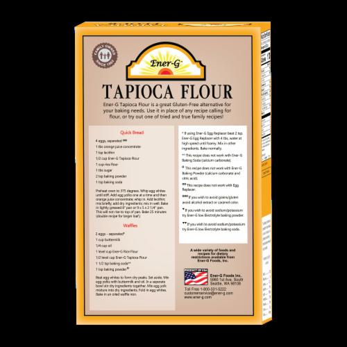 Ener-G Gluten-Free Tapioca Flour Perspective: back