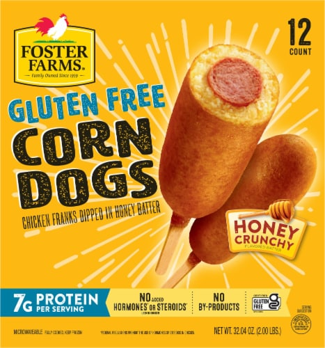 Foster Farms Gluten Free Corn Dogs Perspective: back