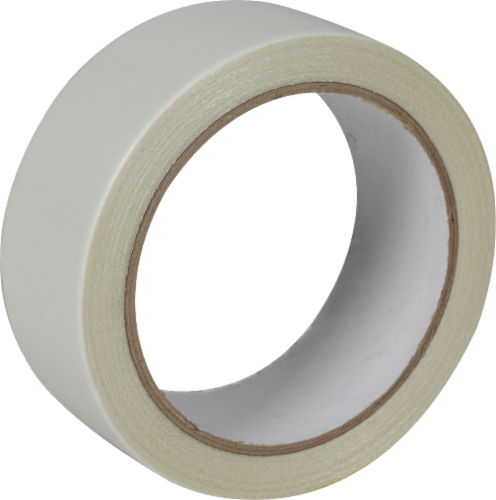 Duck® Indoor/Outdoor Carpet Tape - White Perspective: back