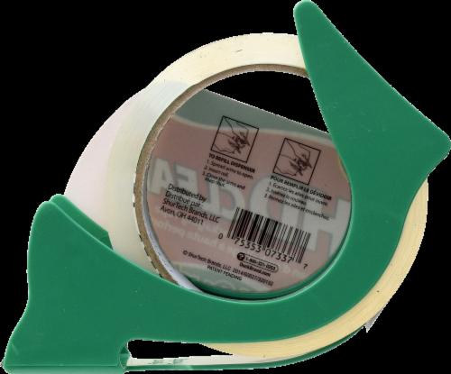 Duck HD Clear 1.88 in. W x 40 yd. L Heavy Duty Packaging Tape Clear - Case Of: 1; Perspective: back