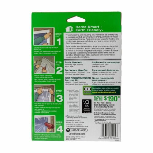 Duck® Shrink Film Indoor Window Insulation Kit - 5 Pack Perspective: back