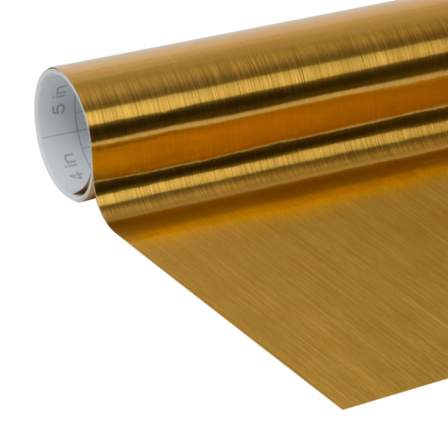 Duck® Deco Adhesive Laminate - Metallic Gold Perspective: back