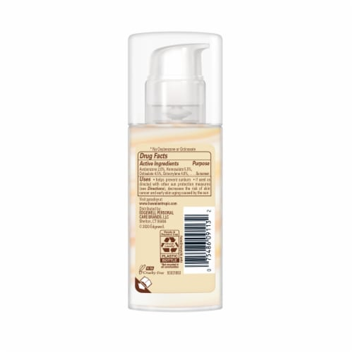 Hawaiian Tropic Silk Hydration Weightless Face Lotion Sunscreen SPF 30 Perspective: back