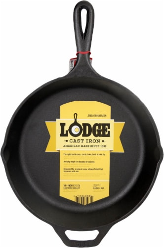 Lodge Skillet with Assist Handle - Black Perspective: back