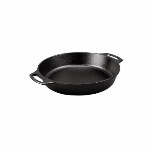 Lodge BW10BSKA1 10.25 inch Seasoned Cast Iron Bakers Skillet Perspective: back