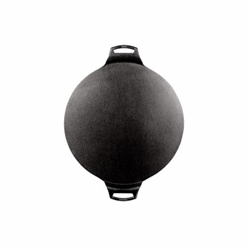 Lodge BW15PPA1 15 inch Seasoned Cast iron Pizza Pan Perspective: back