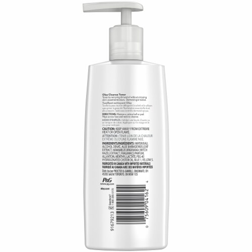 Olay Cleanse Witch Hazel Toner Perspective: back