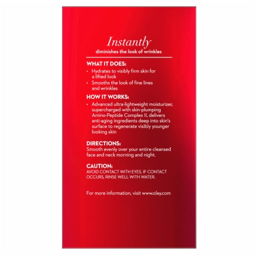 Olay Regenerist Micro-Sculpting Serum Fragrance Free Face Moisturizer Perspective: back