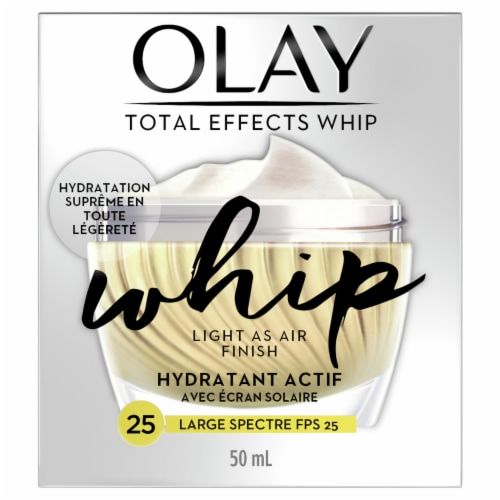 Olay Total Effects Whip Active Face Moisturizer with Sunscreen SPF 25 Perspective: back