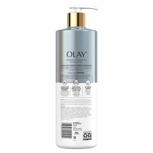 Olay Collagen Firming and Hydrating Body Lotion Perspective: back