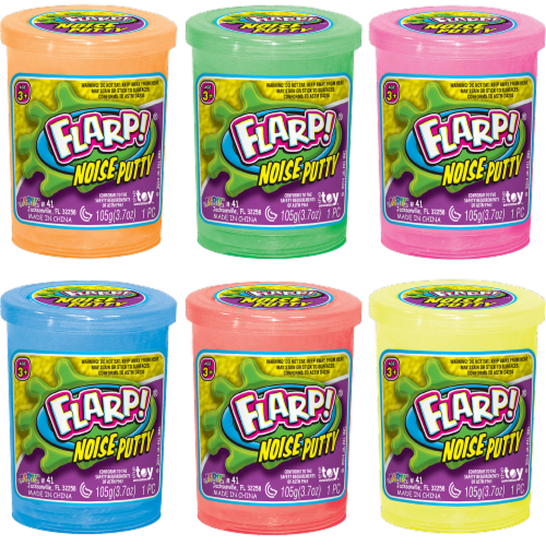 JA-RU Flarp Noise Putty - Assorted Perspective: back