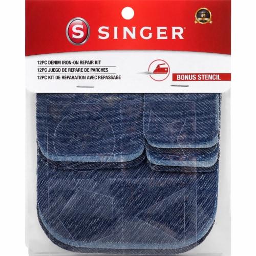 SINGER® Denim Iron-On Repair Kit Perspective: back