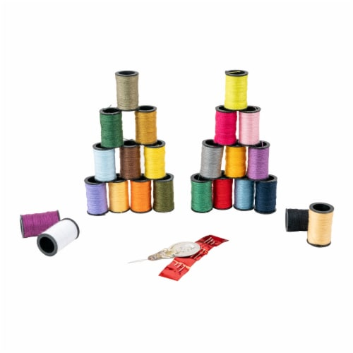 SINGER Polyester Hand Sewing Thread Spools Perspective: back