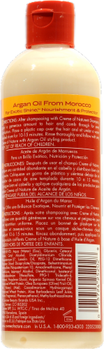 Creme of Nature Argan Oil Intensive Conditioning Treatment Perspective: back
