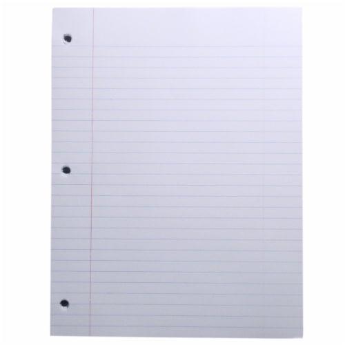 Top Flight Standards Wide Rule Filler Paper - 150 Sheets - White Perspective: back