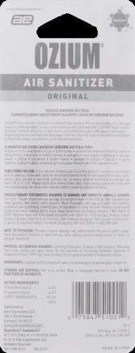 Ozium Original Scent Air Sanitizer Perspective: back