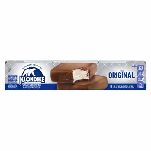 Klondike The Original Ice Cream Bars Perspective: back