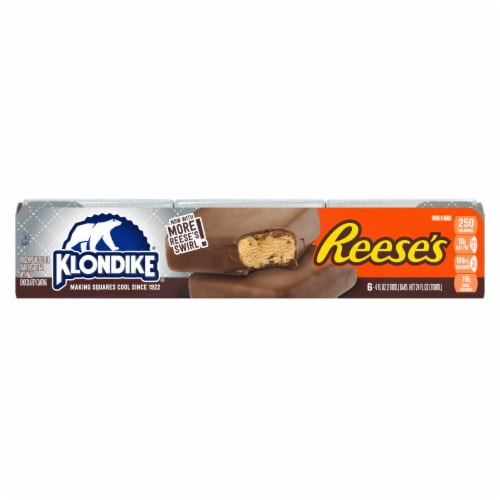 Klondike Reese's Peanut Butter Cup Ice Cream Bars Perspective: back