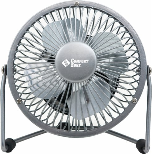 Comfort Zone High Velocity Desk Fan - Assorted Perspective: back
