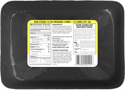 Bob Evans® Original Pork Sausage Links Perspective: back