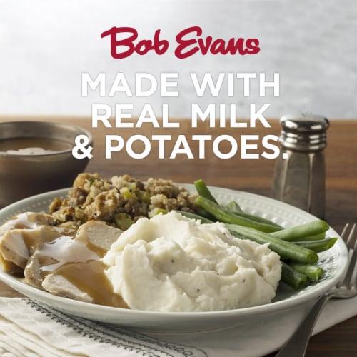 Bob Evans Garlic Mashed Potatoes Perspective: back