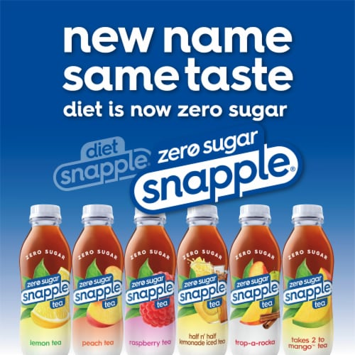 Snapple® Diet Lemon Tea Perspective: back
