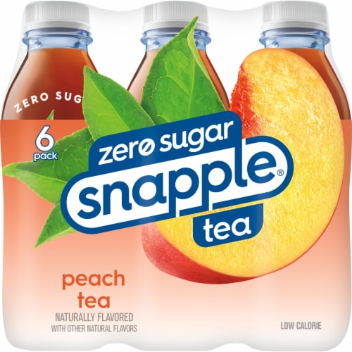 Snapple® Diet Peach Tea Perspective: back