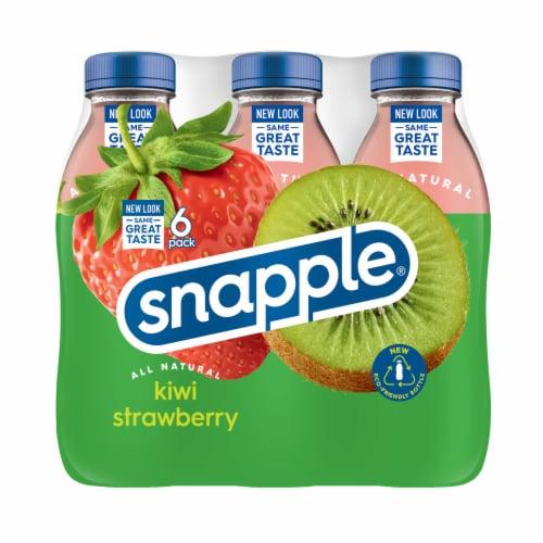 Snapple Kiwi Strawberry Juice Drink Perspective: back