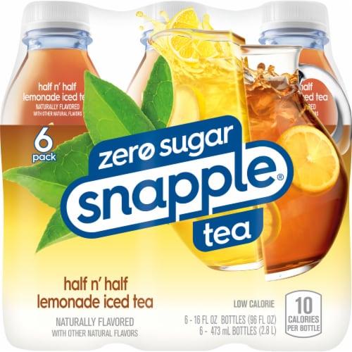 Diet Snapple® Half 'n Half Lemonade Iced Tea Perspective: back