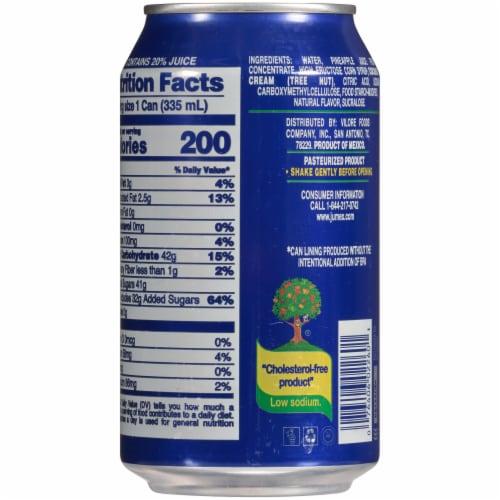 Jumex Coconut Pineapple Nectar Juice Perspective: back