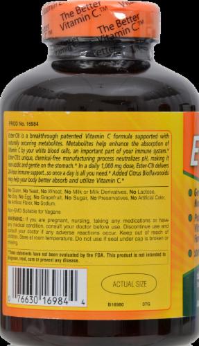American Health Ester-C 1000 mg with Citrus Bioflavonoids Vegetarian Supplement Perspective: back