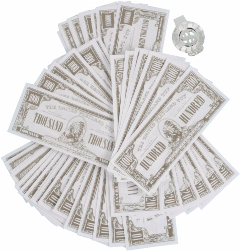Imperial One Million Dollars Novelty Money Perspective: back