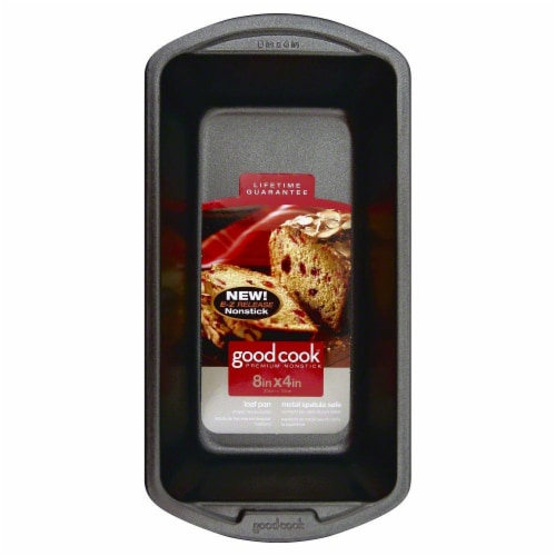 GoodCook® Medium Nonstick Loaf Pan - Gray Perspective: back