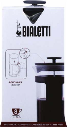 Bialetti French Coffee Press - Black Perspective: back