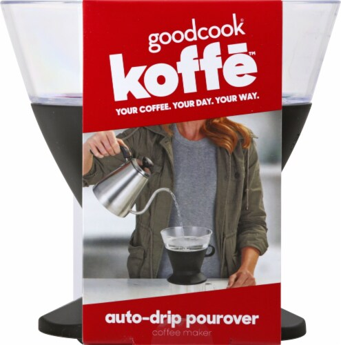 GoodCook® Koffe Auto-Drip Pourover Coffee Maker Perspective: back