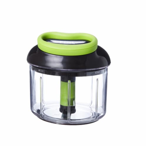 T-Fal 4 Cup Rapid Chopper Easy Hand Pull Manual Food Processor Vegetable Dicer Perspective: back