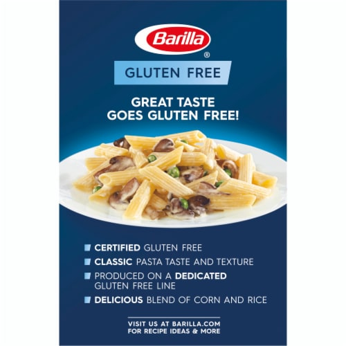 Barilla Gluten Free Penne Pasta Perspective: back