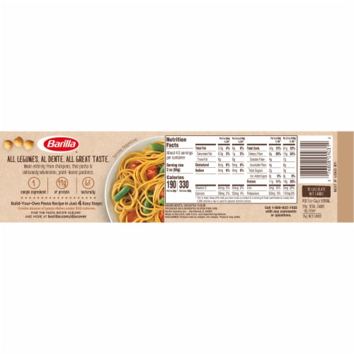 Barilla® Gluten Free Chickpea Spaghetti Perspective: back