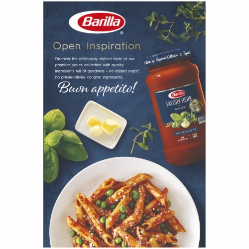 Barilla Penne Pasta Perspective: back
