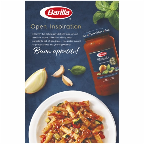 Barilla® Ziti Pasta Perspective: back